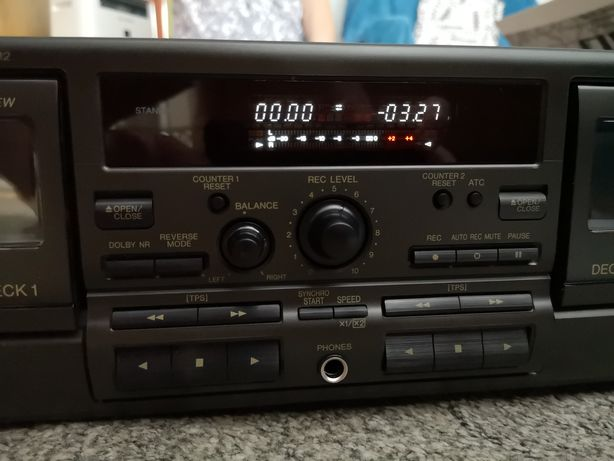 Nowy magnetofon Technics TR474 M2 rarytas dla kolekcjonera