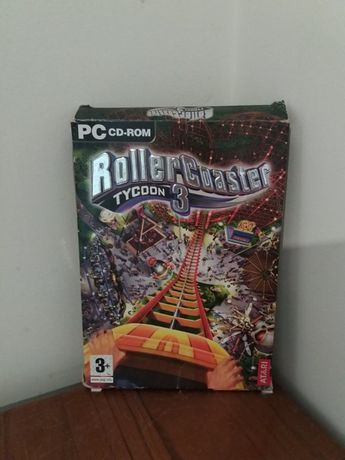 Roller Coaster Tycoon 3 - CD-PC