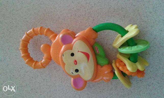 Grzechotka - gryzak małpka fisher price