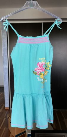 Sukienka plażowa H&M 134-140, 8-10Y