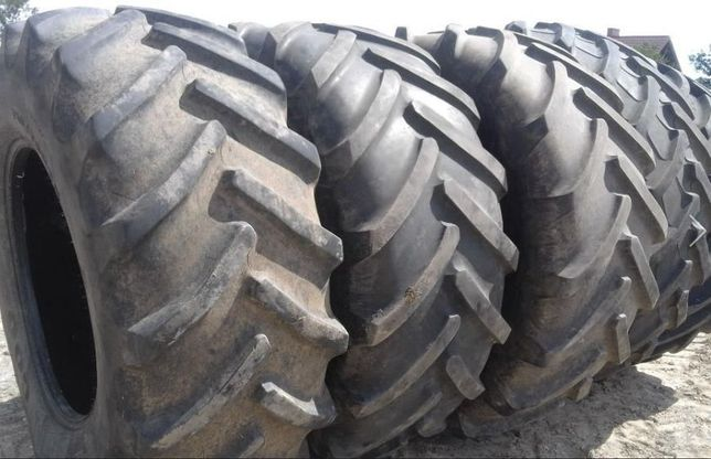 Шины 710/70R38 б/у, для ведущих колес тракторов и комбайнов.