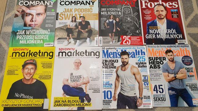 Oddam czasopisma biznesowe i sportowe