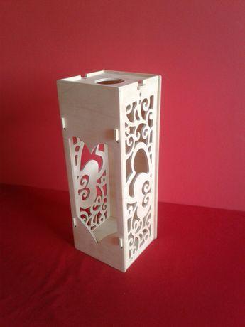 Skrzynka do wina pudełko na wino prezent wesele urodziny imieniny ślub