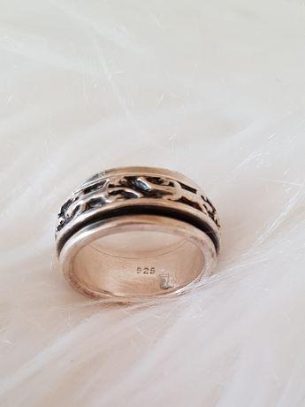 Obraczka obrotowa srebrna