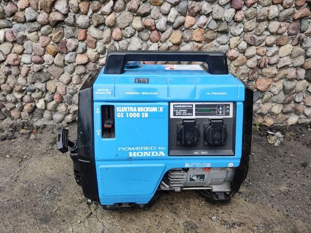 Agregat prądotwórczy jak Honda ex 1000