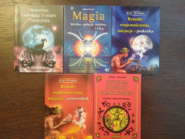 Magia zestaw  5 książek