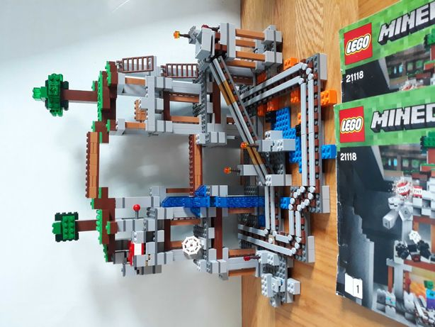 Klocki Lego Minecraft 21118 *stan idealny*