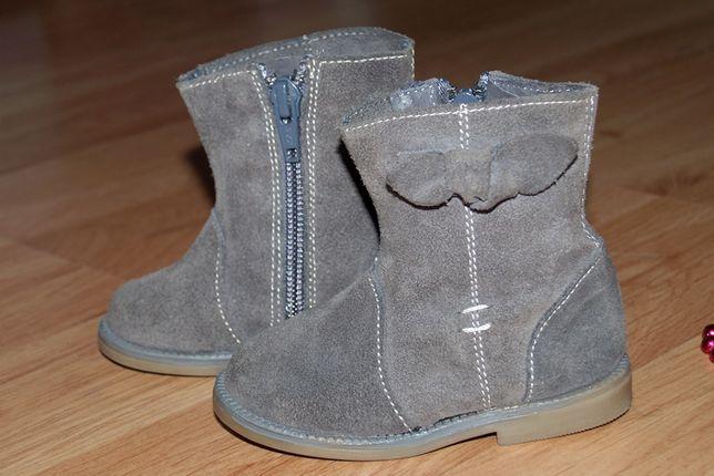 ботинки ботиночки сапожки для девочки Zara зара