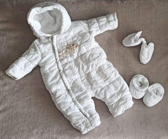 Зимний комбинезон Mothercare для новорожденных