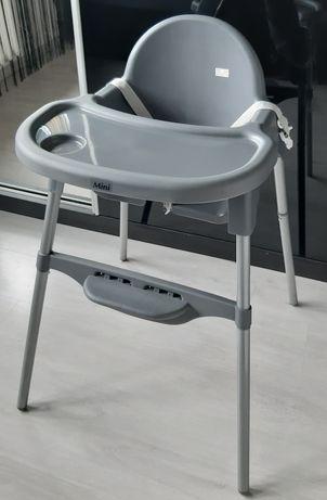 Fotelik do karmienia,krzeselko sapphire kids szary