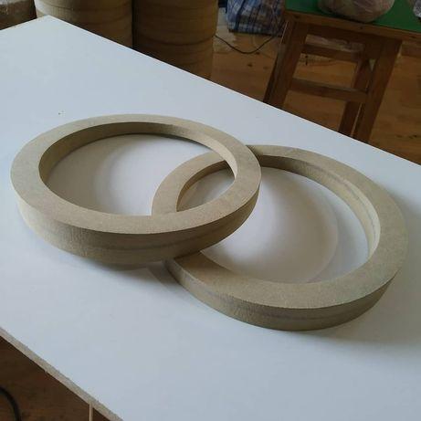 Косые Проставочные кольца (Подиумы) под динамик 165мм