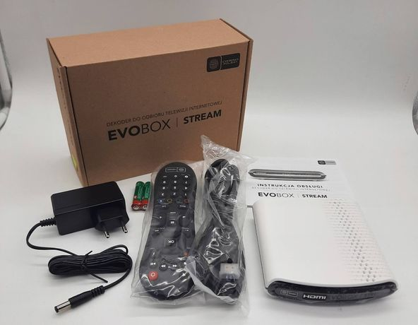 Dekoder Evobox Stream do telewizji internetowej OTT