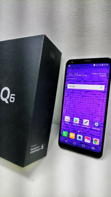 LG Q6 LG-M700A BLACK Lewakowskiego