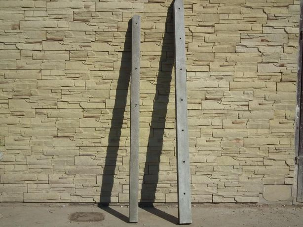 słupki betonowe ogrodzeniowe 2,00m 11,50 sztuka,/ Ełk
