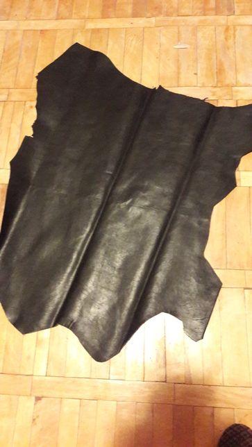 Кожа телячья черного цвета