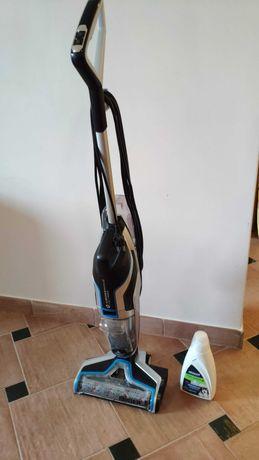 Aspirador/Lavador de piso Bissel Crosswave + Fórmula Bissel