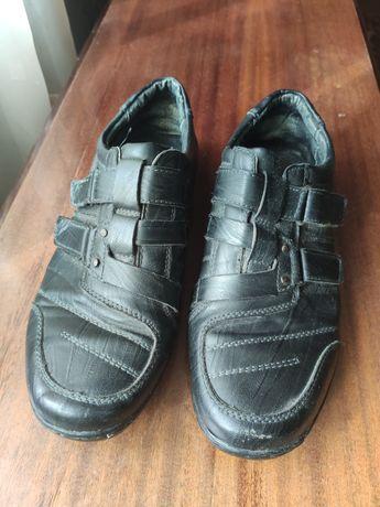 Кожаные туфли мужские на мальчика