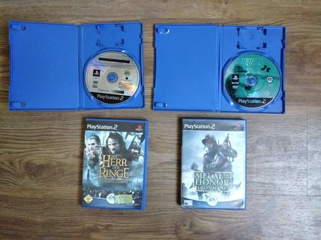 Medal od Honor Frontline i The Lord Of The Rings ps2