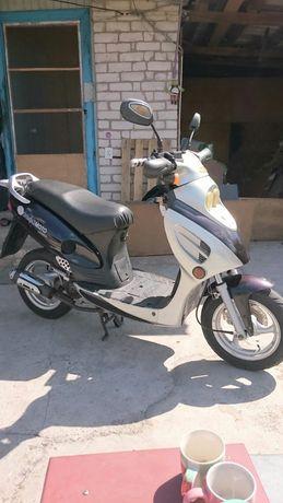 Продам скутер Альфа МОТО СРОЧНО!!!