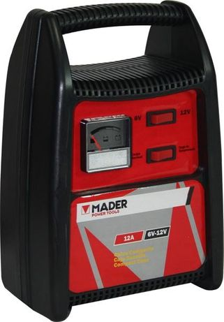 Carregador eléctrico de baterias automóvel 6 e 12V - 12Ah barato