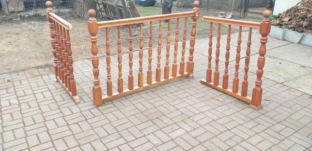 Balustrada drewniana używana