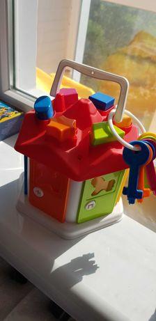 Игровой домик с ключами