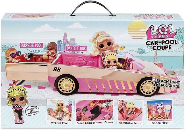 Кукла ЛОЛ Машина Кабриолет Оригинал L.O.L. SURPRISE! Lights Car Pool