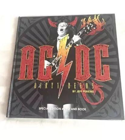 AC/DC: Dirty Deeds Hardcover com 4 DVD's