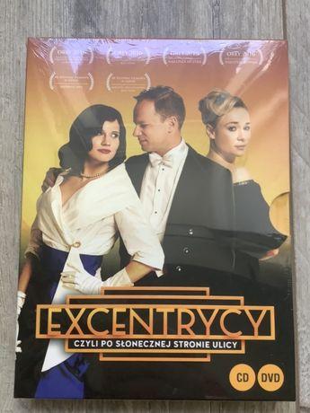 Excentrycy, Stuhr, film polski, DVD + CD, nowy