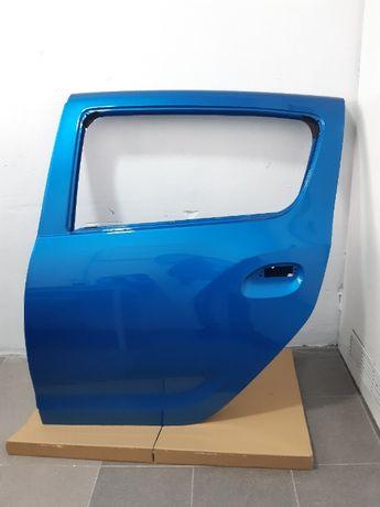 Dacia sandero stepway II lift drzwi lewe tylne lewy tył RPL niebieske