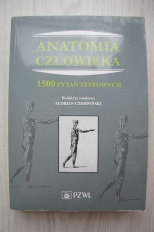 Anatomia człowieka. 1500 pytań testowych - Czerwiński