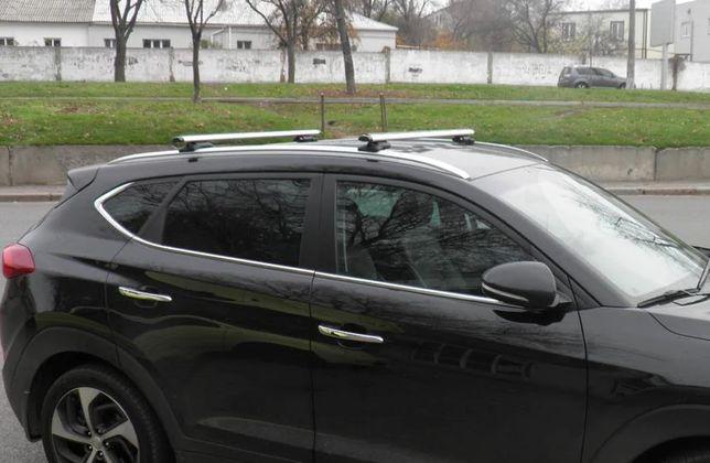 Багажник Hyundai Хюндай Santa Fe Tucson Ix35 Аеродинамічний алюміній