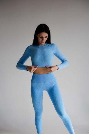 Женский спортивный комплект Enjoy Betty (blue) S, M
