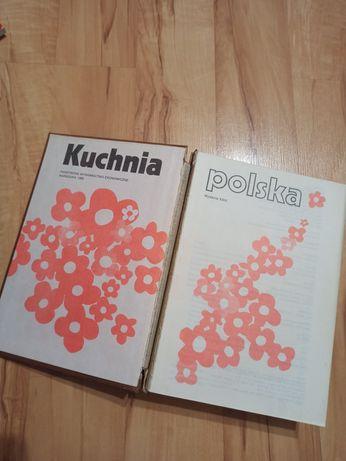 Książka kuchnia Polska 1989