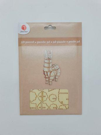 3D пазл DecoTime, головоломка дерев'яна, набір для творчості, пазлы