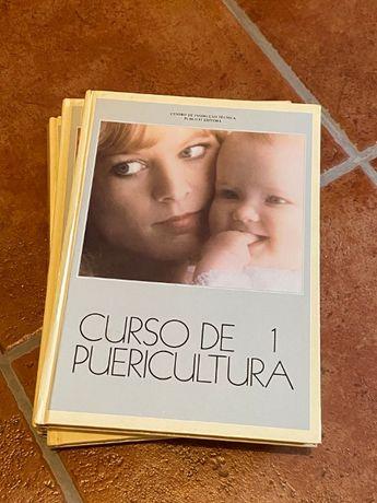 Livro Curso de puericultura