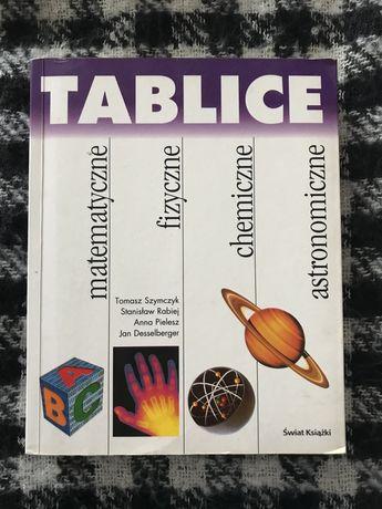 Tablice matematyczne,chemiczne,fizyczne,astronomiczne