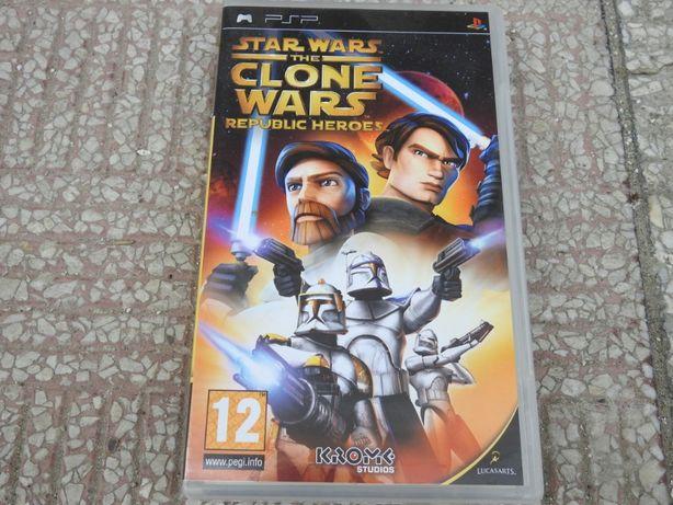 Star Wars The Clone Wars Republic Heroes na konsolę PSP