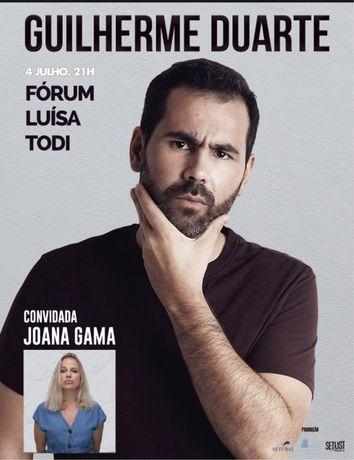 Bilhete para Guilherme Duarte e Convidados