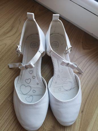 białe buty komunijne
