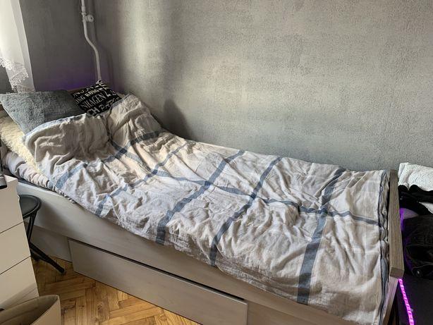 Łóżko jednoosobowe dla nastolatka + stelaż