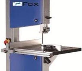 Serra vertical de fita para corte de madeira FOX 160 mm 45º 750W