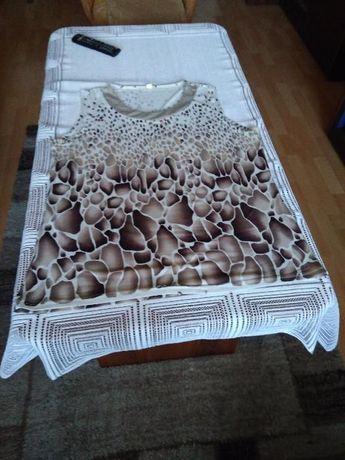 bluzka bez rekawków