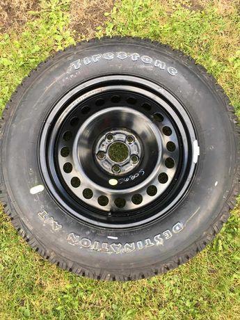 Колесо з металевим диском на Jeep Cherokee - 245/65R17