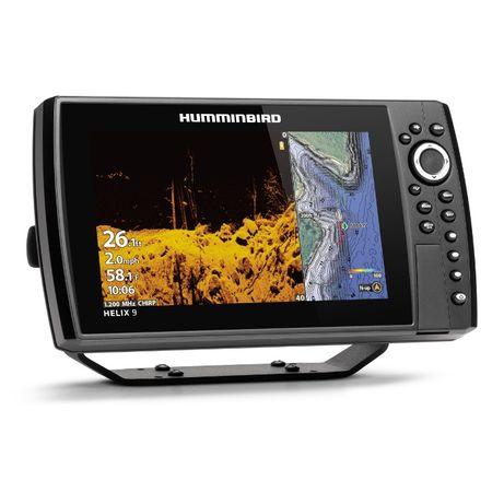 Эхолот Картплоттер Humminbird HELIX 9 CHIRP MEGA SI+ GPS G4N Ехолот