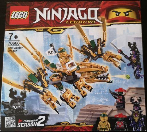 Lego 70666 Ninjago Złoty Smok NOWY