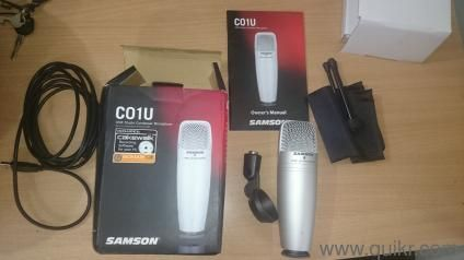 Samson C01U USB Studio Condenser Microfone