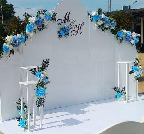 Свадебный декор,оформление зала