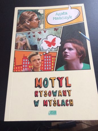 Motyl rysowany w myślach książka dla młodzieży