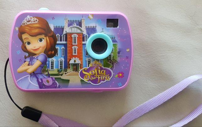 Máquina fotográfica princesa sofia
